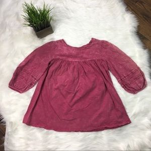Altar'd State Puff Sleeve Top Size Small